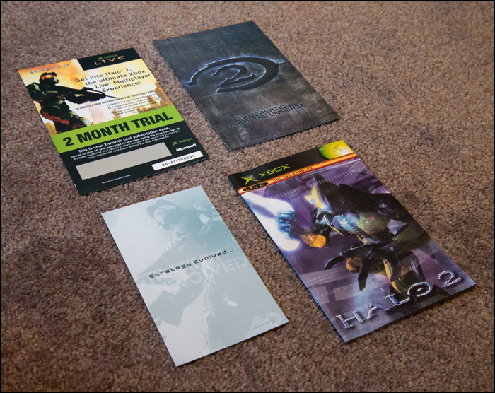 Halo-2-Limited-Collector's-Edition-Contents