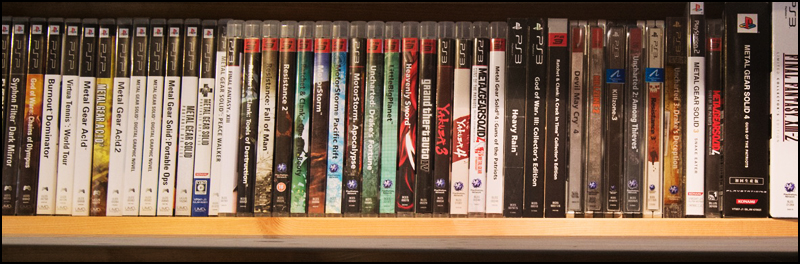 Video-Game-Shelf