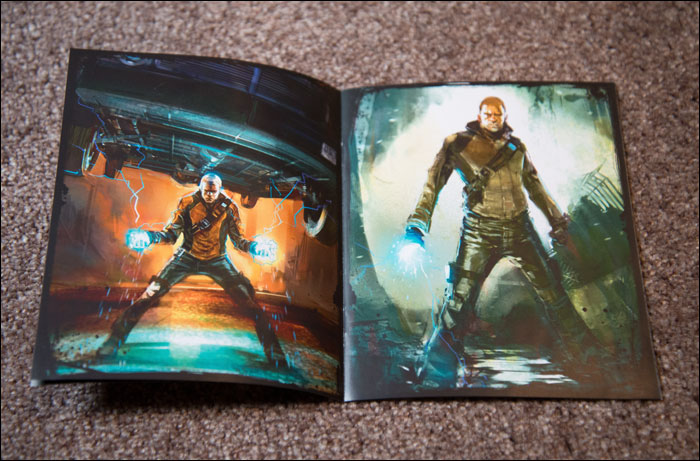 Infamous-Special-Edition-Artbook-Cole