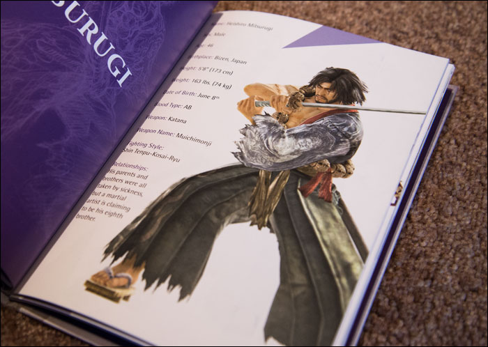 Soul-Calibur-V-Collector's-Edition-Artbook-Mitsurugi