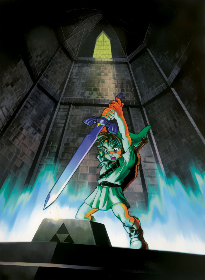 Zelda-Ocarina-of-Time-Retreiving-the-Master-Sword
