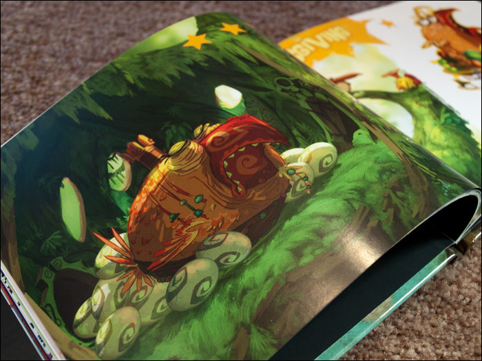 Rayman-Origins-Collector's-Edition-Art-Book-Bird