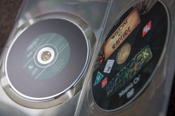 BioShock-Collector's-Edition-Extras-DVD-Discs
