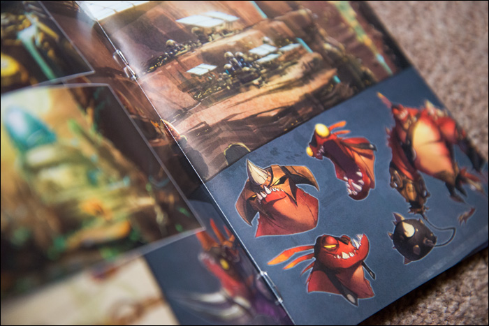 Ratchet-&-Clank-A-Crack-in-Time-Collector's-Edition-Art-Book-Page