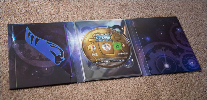 Ratchet-&-Clank-A-Crack-in-Time-Collector's-Edition-Opened