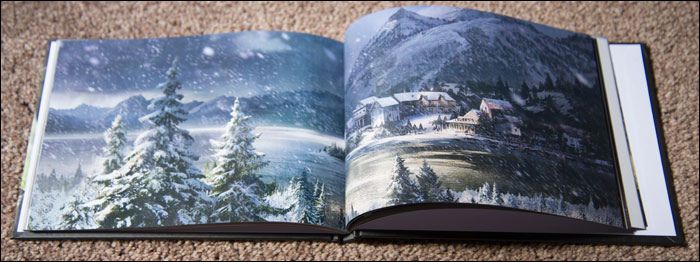 The-Last-of-Us-Joel-Edition-Art-Book-Snow