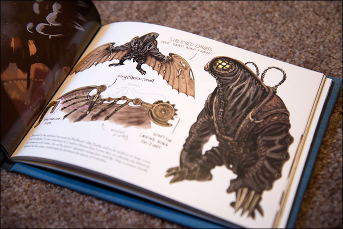BioShock-Infinite-Premium-Edition-Art-Book-Songbird-Design