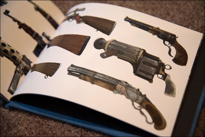 BioShock-Infinite-Premium-Edition-Art-Book-Weapons