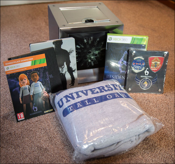 Resident-Evil-6-Collector's-Edition-Contents