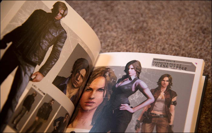 Resident-Evil-6-Collector's-Edition-Hoodie-Artbook-Characters