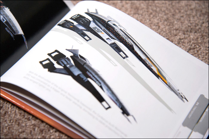 Mass-Effect-2-Collector's-Edition-Artbook-Normandy