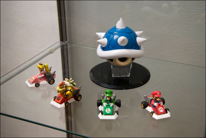 Mario-Kart-8-Limited-Edition-Spiny-Shell-Displayed