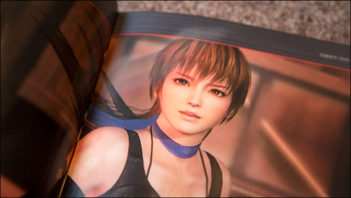 Dead-or-Alive-5-Collector's-Edition-Artbook-Kasumi