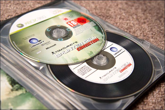 Splinter-Cell-Conviction-Collector's-Edition-Discs