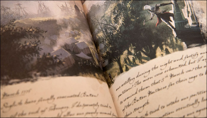 Assassin's-Creed-III-Freedom-Edition-George-Washington's-Notebook-Pages