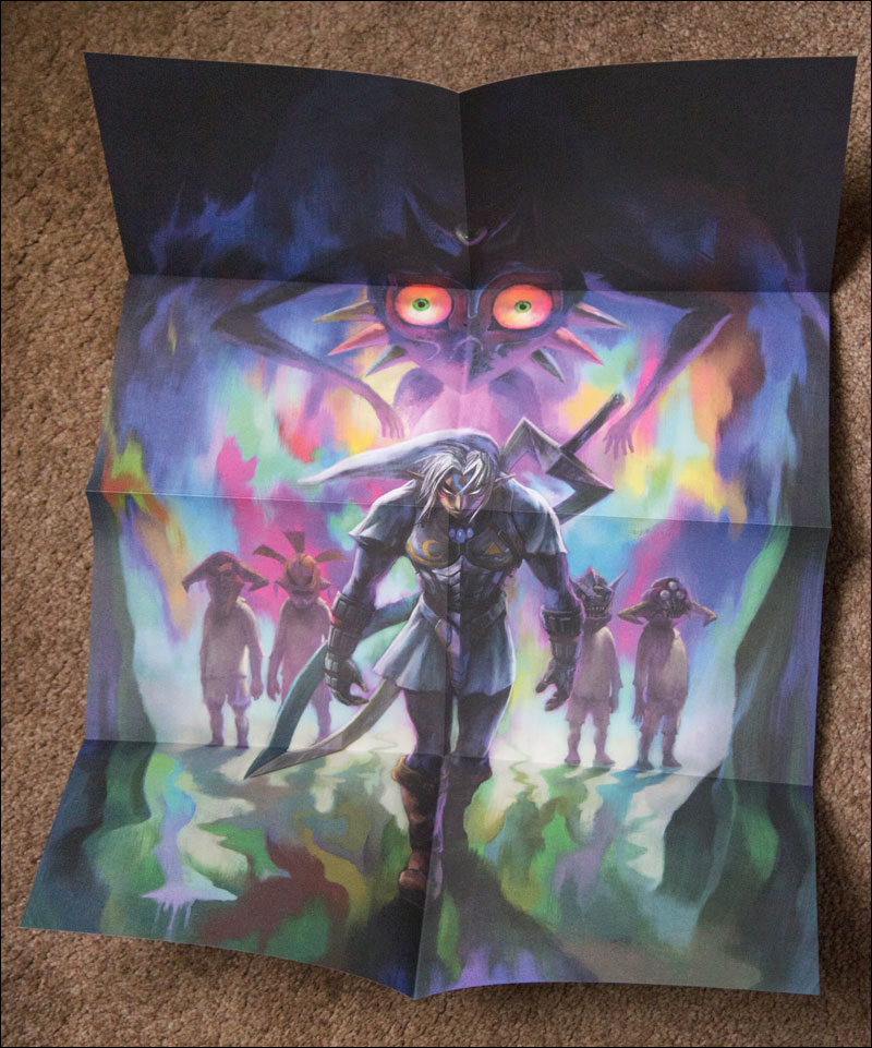 Majora's-Mask-3D-Special-Edition-Poster-Oni-Link