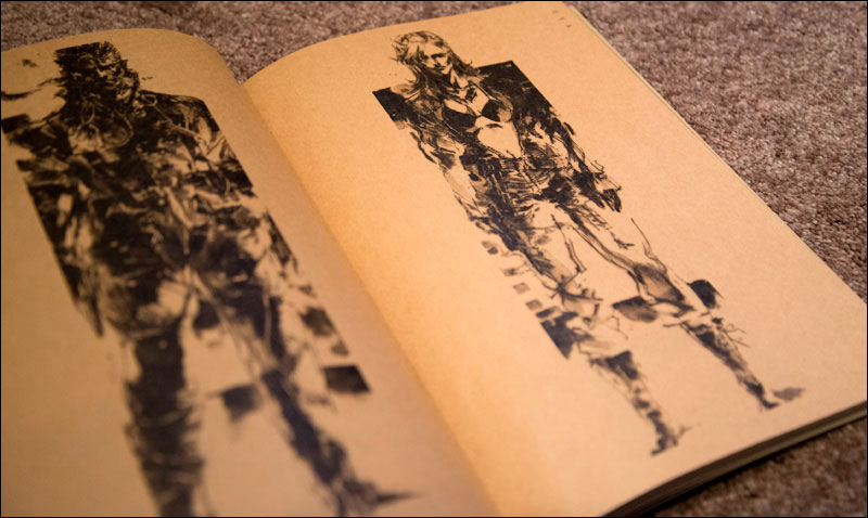 Metal-Gear-Solid-3-Premium-Package-Book-Shinkawa-Artwork