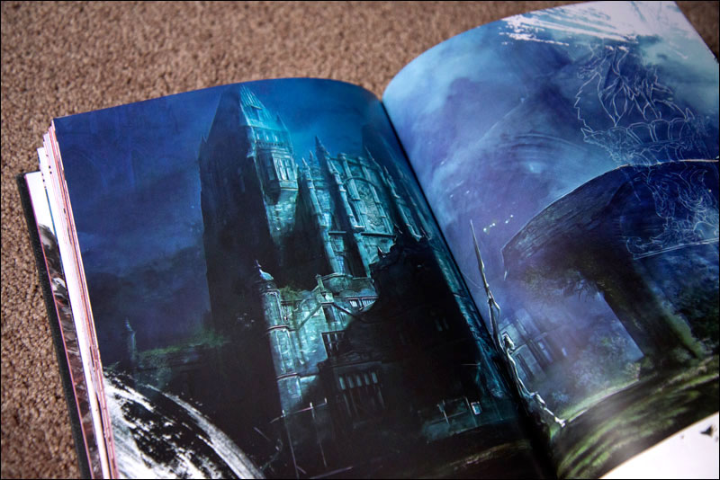 Castlevania-Lords-of-Shadow-2-Dracula's-Tomb-Edition-Artbook-Castle
