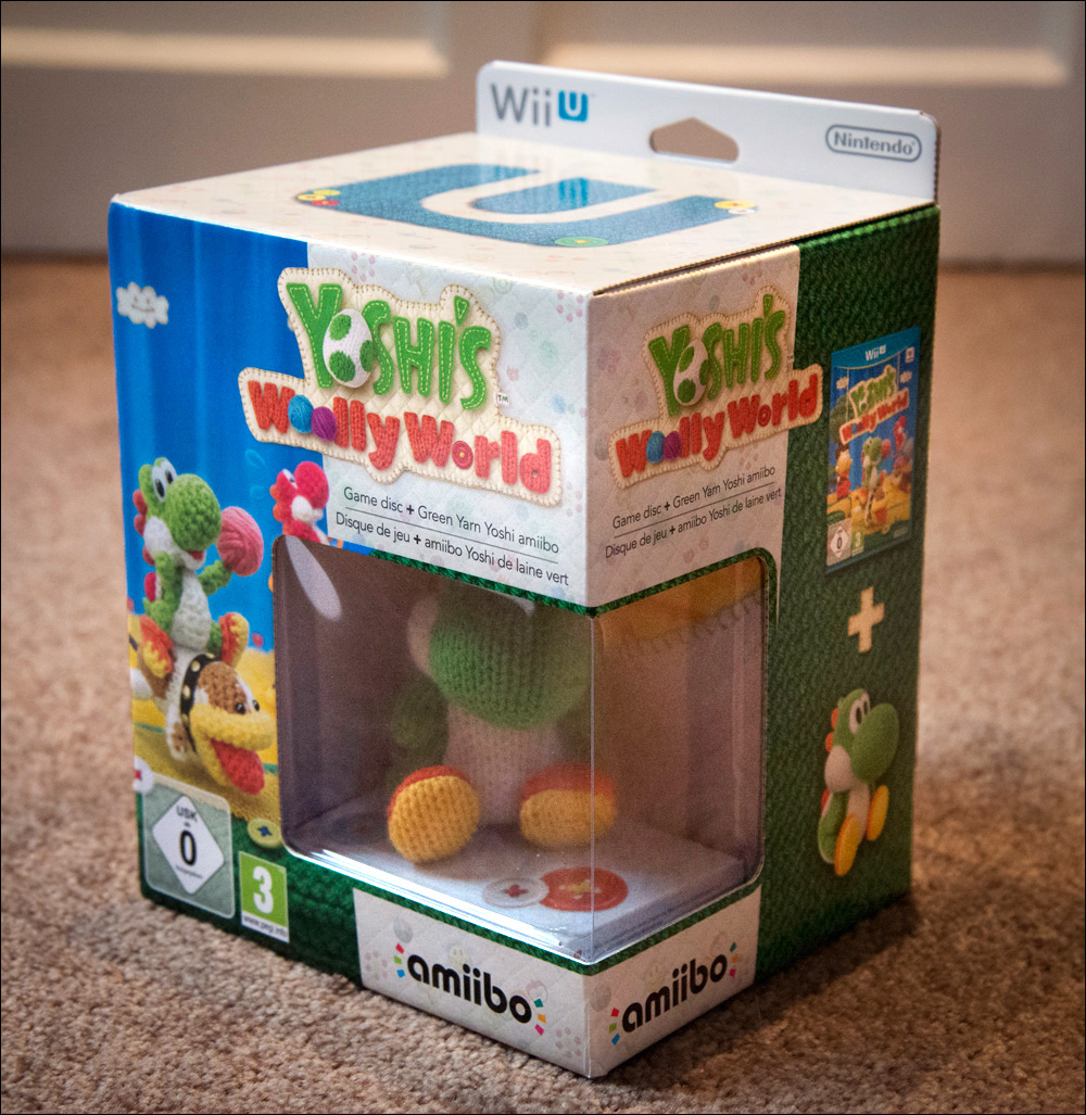 Yoshi's-Woolly-World-Amiibo-Bundle