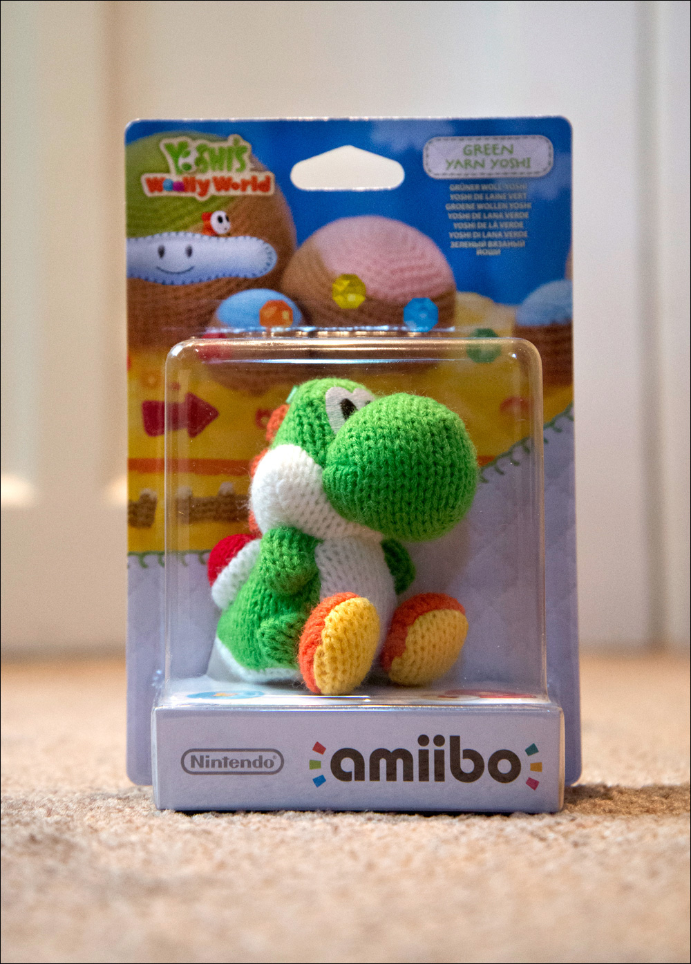 Yoshi's-Woolly-World-Green-Yoshi-Amiibo