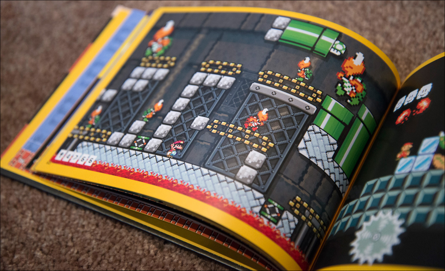 Super-Mario-Maker-Amiibo-Bundle-Artbook-Level-3