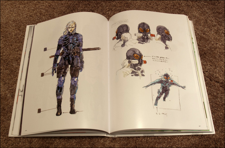 MGS-HD-Collection-Artbook-MGS2-Raiden-Page