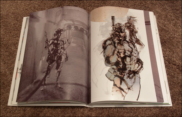 MGS-HD-Collection-Artbook-MGS2-Snake-Page