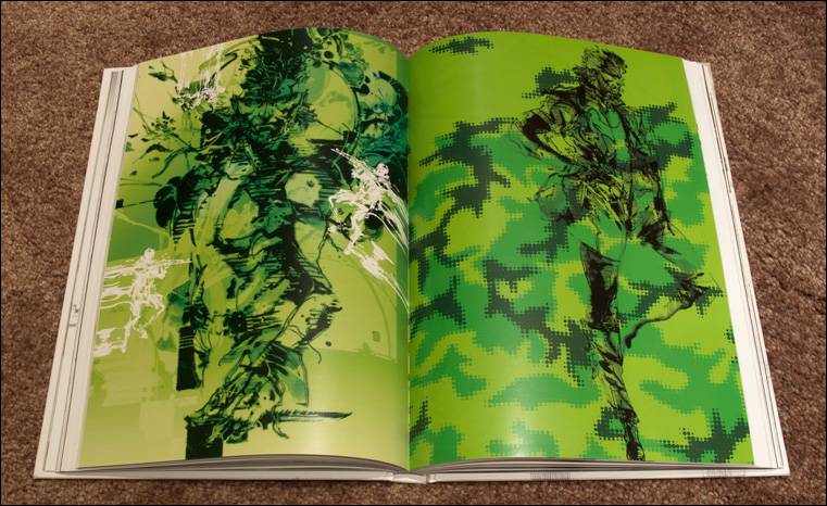 MGS-HD-Collection-Artbook-MGS3-Big-Boss-Spread