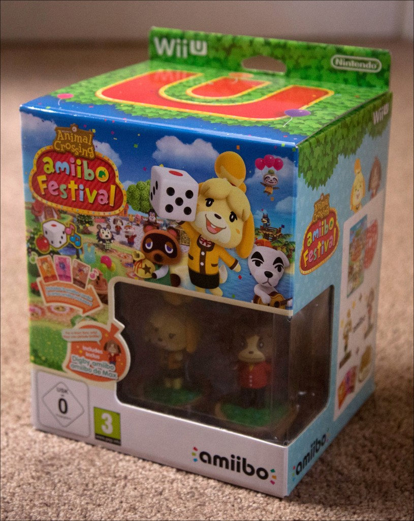 Animal Crossing Amiibo Festival, contains two Amiibos and Amiibo Cards