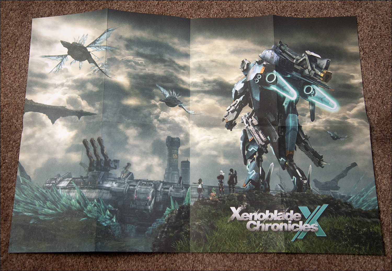 Xenoblade-Chronicles-X-Limited-Edition-Poster-Side-1