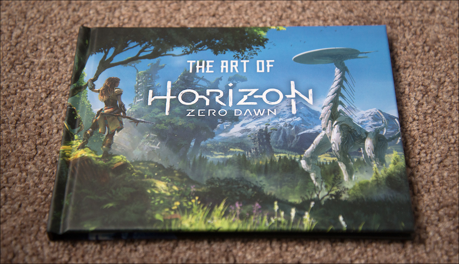 Horizon Zero Dawn Limited Edition Video Game Shelf Sony Playstation 4 Collector Lastly Some Downloadable Content Is Also Included An Exclusive Ps4 Theme Two Outfits And Bows The Banuk Traveller Pack Carja Trader