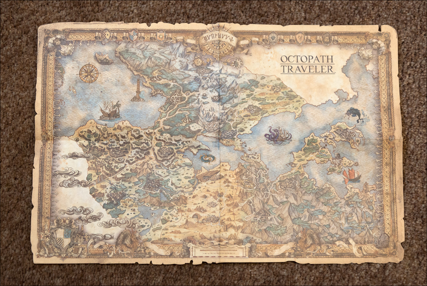 Octopath Traveler Traveler S Compendium Edition Video Game Shelf