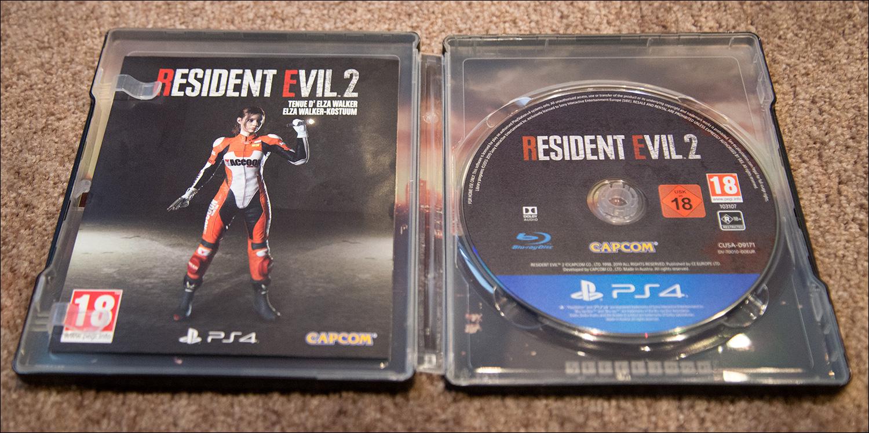 Resident Evil 2 Steelbook Edition – Video Game Shelf